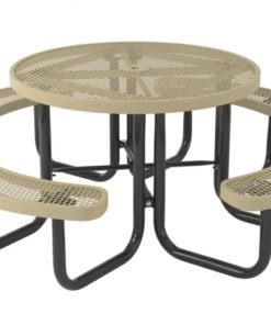 Regal Picnic Table - Round - Portable