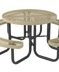 Regal Picnic Table - Round - Portable