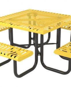 Classic Picnic Table - Square - Portable