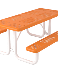 Perforated Picnic Table - Rectangular - Portable