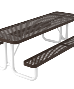 UltraLeisure™ Perforated Picnic Table - Rectangular - Portable