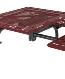 Classic Picnic Table - Sqaure - WEB - ADA