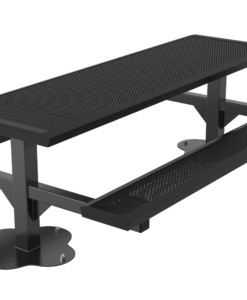 Infinity Innovated Picnic Table - Rectangular - Pedestal