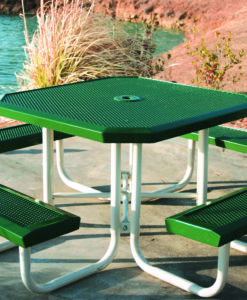 Infinity Innovated Picnic Table - Octagon - Portable