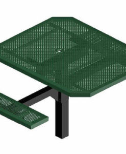 Infinity Innovated Picnic Table - Octagon - Pedestal