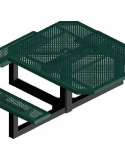 Infinity Innovated Picnic Table - Octagon - Pedestal - ADA