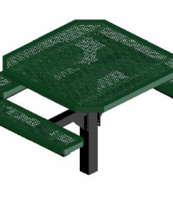 Innovated Picnic Table - Octagon - Pedestal