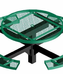 Regal Picnic Table - Round - Pedestal