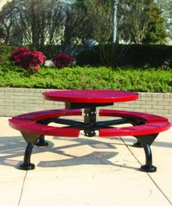 Regal Picnic Table - Round - WEB