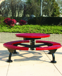 Regal Picnic Table - Round - WEB