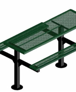 Infinity Innovated Picnic Table - Rectangular - Pedestal - ADA