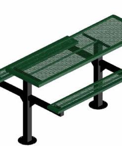 Infinity Innovated Picnic Table - Rectangular - Pedestal - ADA