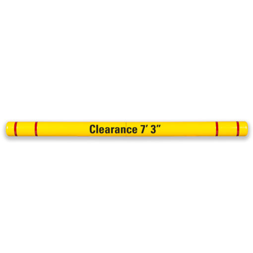 Maximum Height Clearance Bar