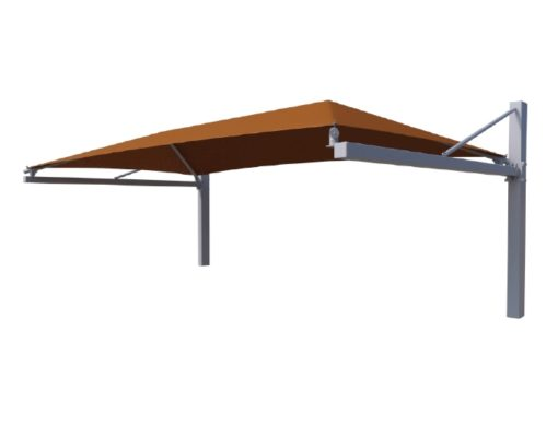 Suspended Cantilever Shade Structure