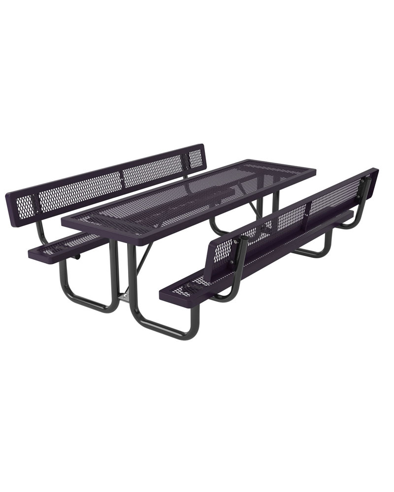 Sku 745pt780 categories picnic tables metal picnic tables rectangular picnic tables tag regal style items