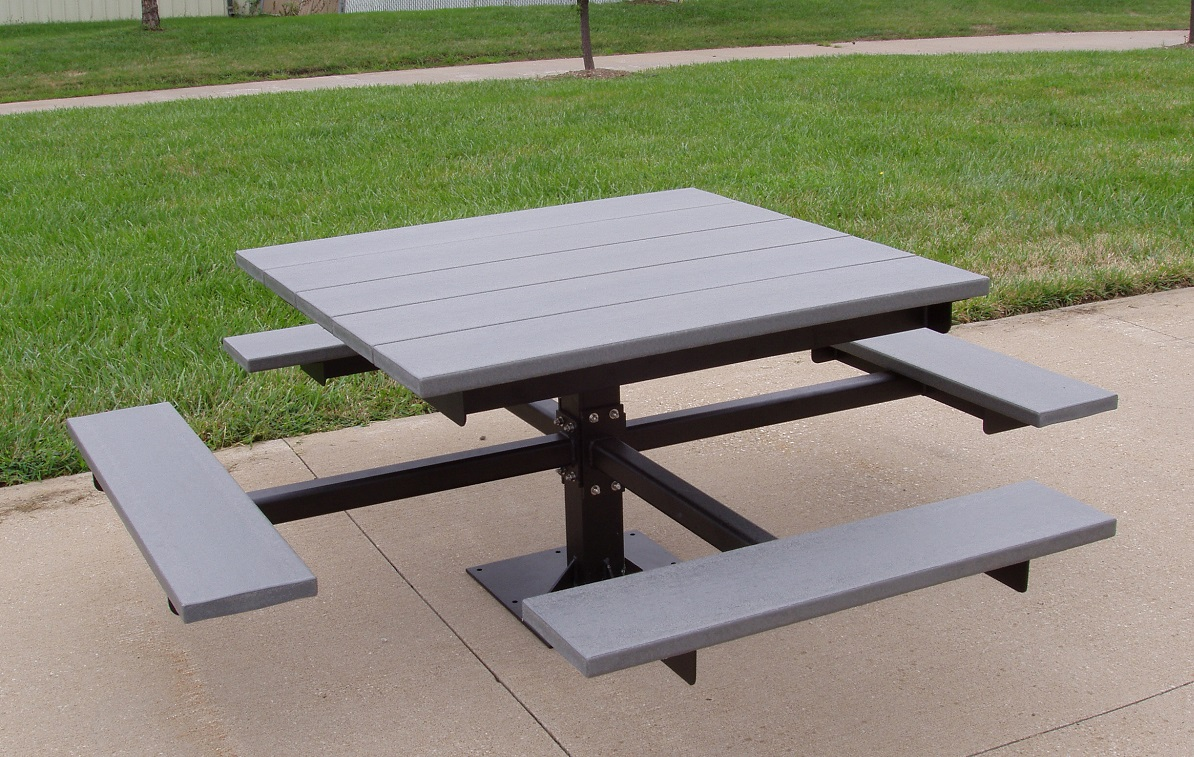 Pedestal Mount Table With Recycled Plastic Seats And Table. Expandable Tables. Ikea Ladder Desk. Wall Cabinet With Drawers. Wire Desk Organizer. Metal Nightstands With Drawers. Parson Dining Table. Iphone Desk Mount. Shuffleboard Table Costco