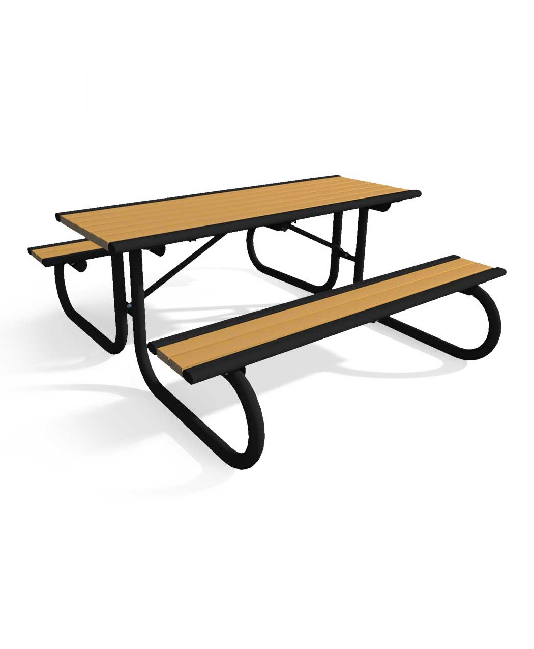 Enjoyable Richmond Series Recycled Plastic Picnic Table Park Warehouse Evergreenethics Interior Chair Design Evergreenethicsorg