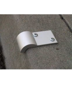 Fixed Angle Curb Clip - Skateboard Deterrent for Curbs - FA 90CC