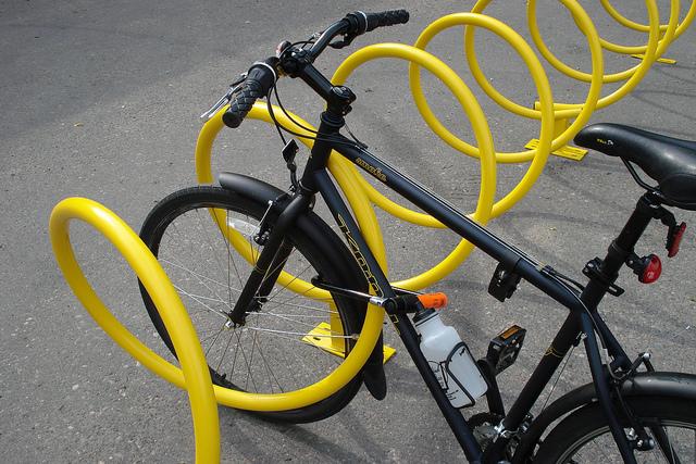Helix Bike Rack Park Warehouse
