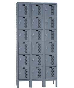 6 Tier Lockers