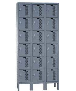6 Tier Lockers