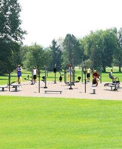 Outdoor Fitness Complete Kits