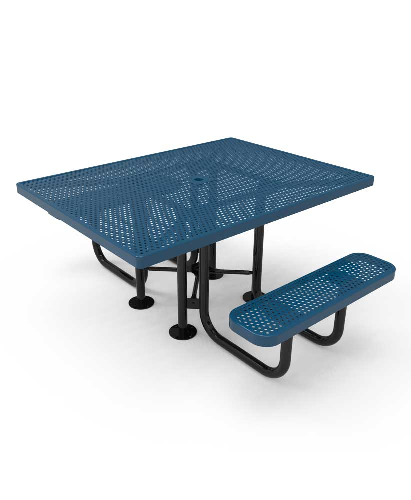 46 Quot Square Portable Picnic Table Parktastic Park Warehouse