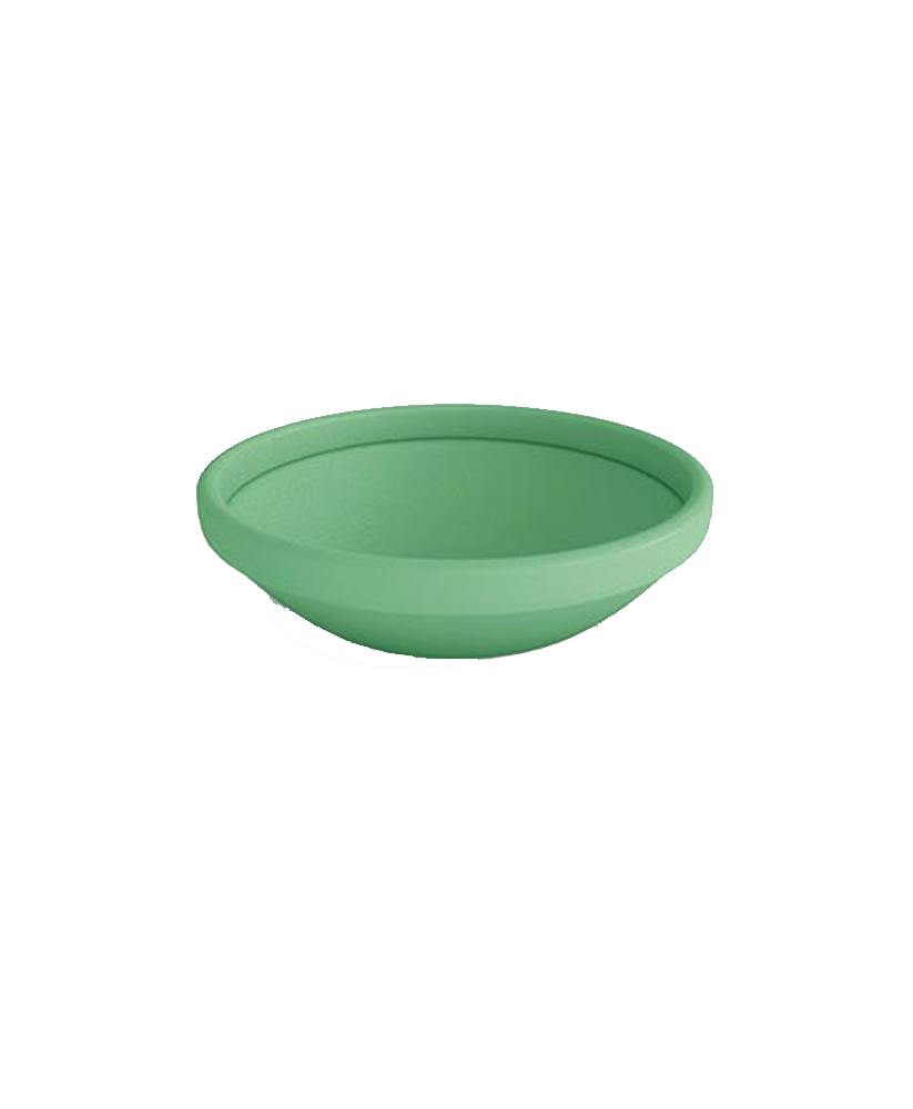Low Bowl Round Polymer Resin Planter Standard Colors