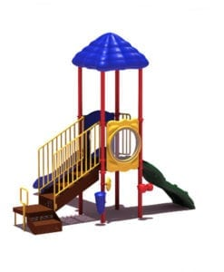 Age 2-5 Commercial Playgrounds