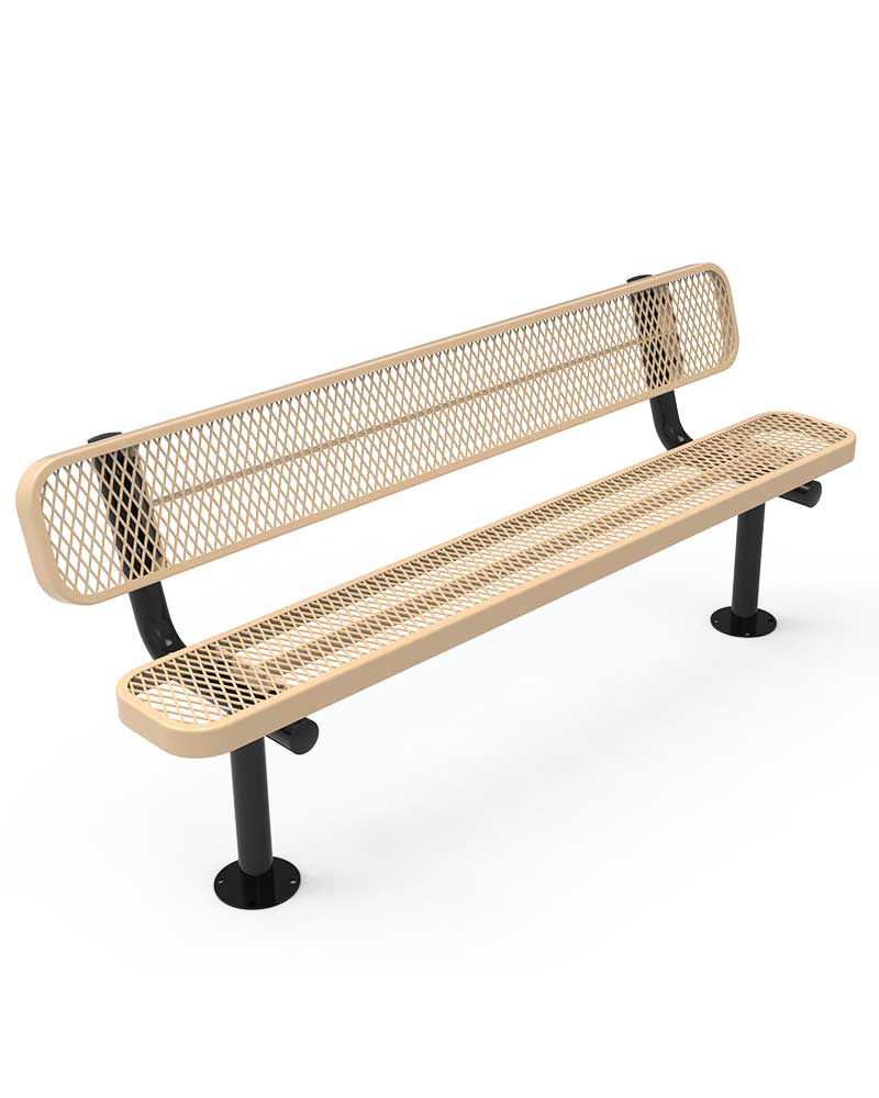 Stupendous Thermoplastic Coated Steel Park Bench Bralicious Painted Fabric Chair Ideas Braliciousco