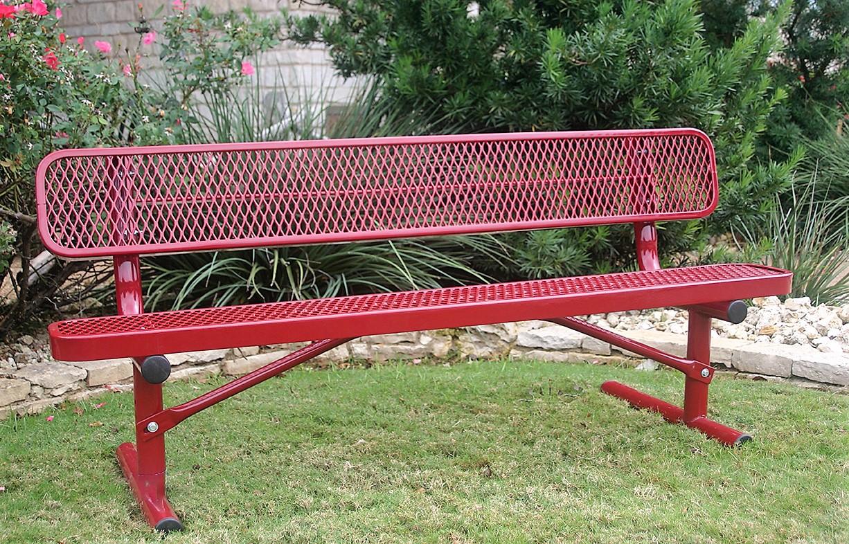 Pleasant Standard Heavy Duty Park Bench Park Warehouse Bralicious Painted Fabric Chair Ideas Braliciousco