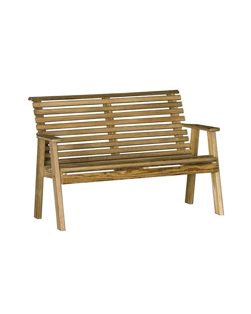 Surprising Plain Bench 4Ft Micro Pressure Treated Wood Spiritservingveterans Wood Chair Design Ideas Spiritservingveteransorg