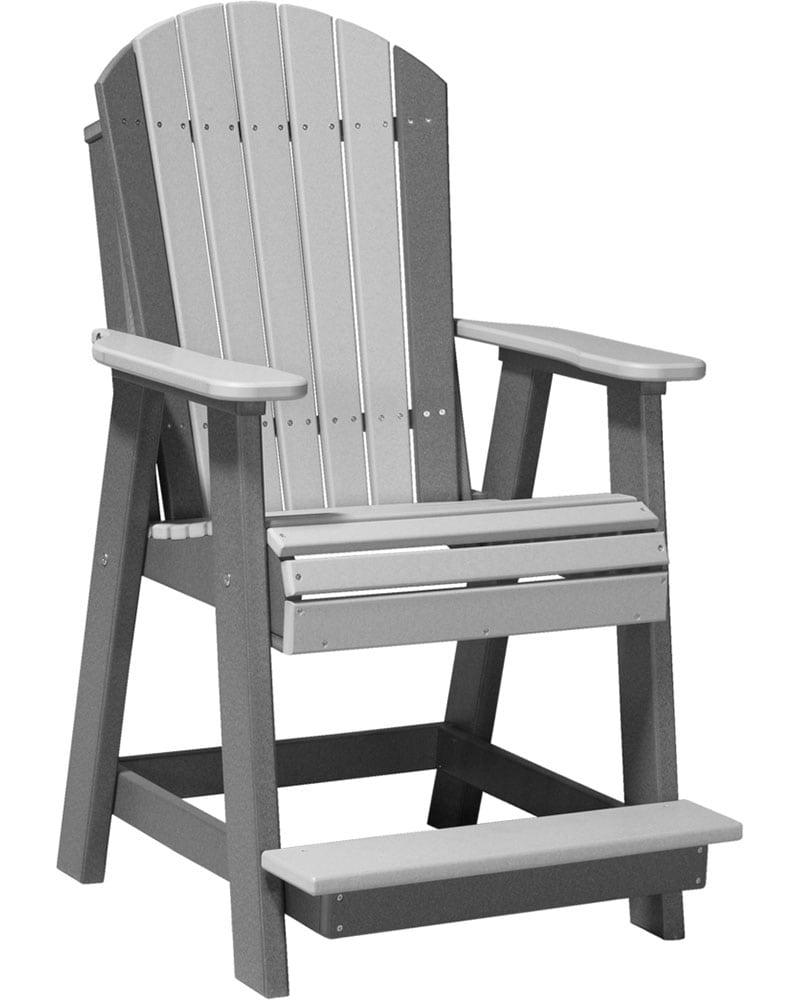 Adirondack Balcony Chair High Density Polyethylene