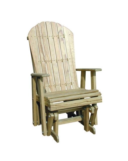 Adirondack Glider Chair 2ft Micro Pressure Treated Wood Park