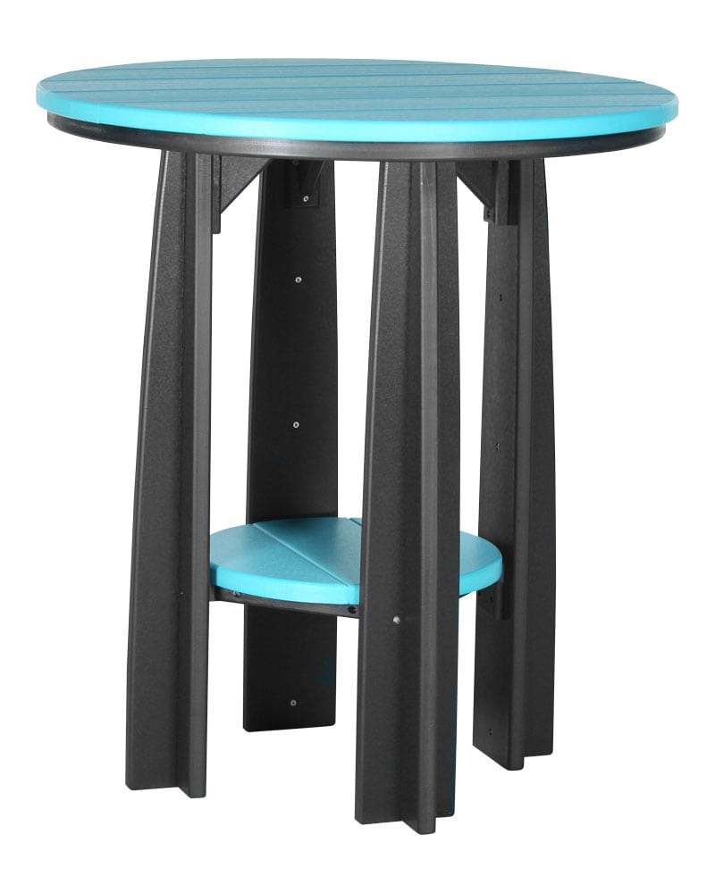 Balcony Table - 36in Table Top - Round - High Density Polyethylene - Park  Warehouse