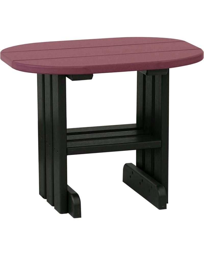 End table high density polyethylene park warehouse for High side table