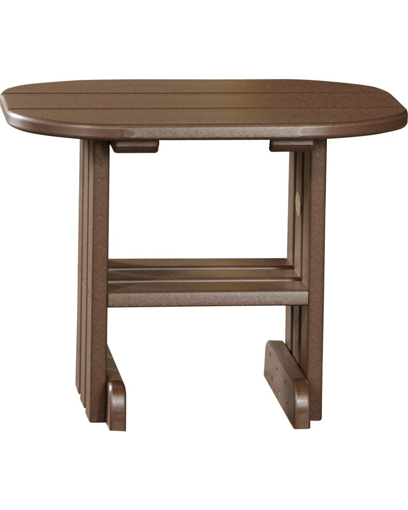 End table high density polyethylene park warehouse for High end side tables