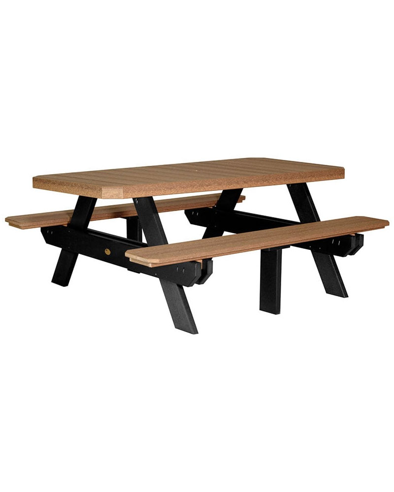 Picnic table 6ft rectangular high density polyethylene park picnic table 6ft rectangular high density polyethylene watchthetrailerfo