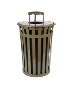 Metal Trash Receptacles