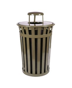 Metal Trash Receptacles