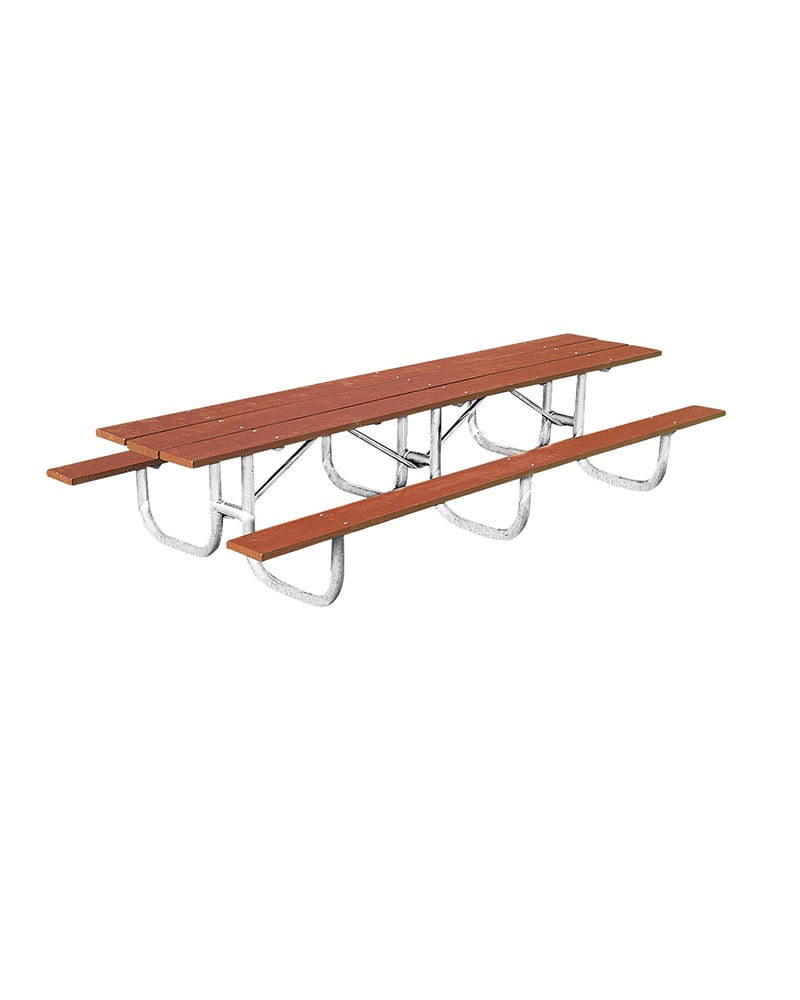 Ft Shelter Series Extra Heavy Duty Picnic Table Legs - 12 ft picnic table