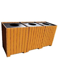 Multi Receptacle Units / Recycling Centers