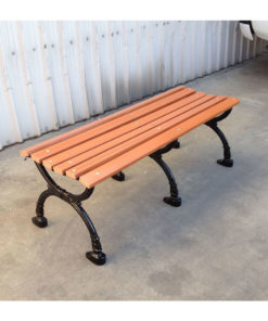 Recycled Plastic Benches Park Warehouse