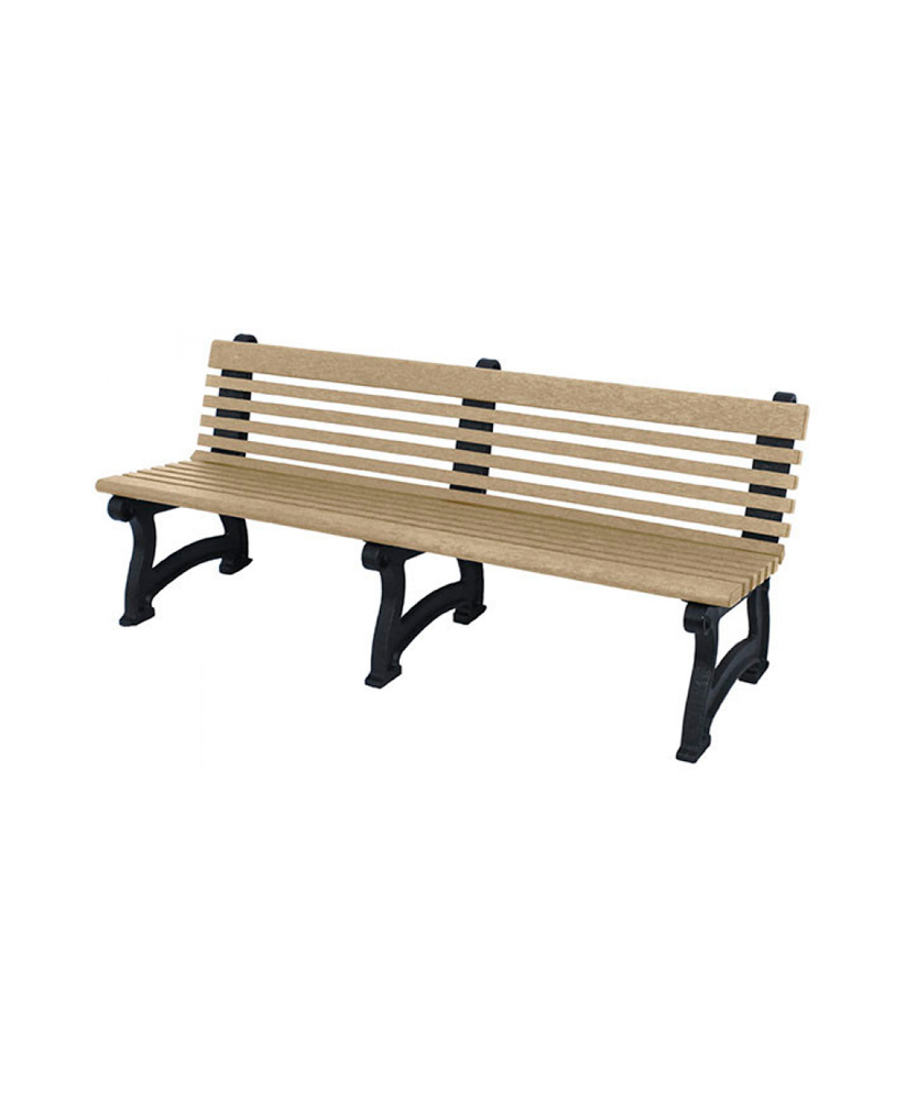 Peachy Willow Bench With Back Recycled Plastic Park Warehouse Forskolin Free Trial Chair Design Images Forskolin Free Trialorg