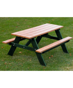 5ft Economizer Childrens Picnic Table Rectangular Recycled Plastic