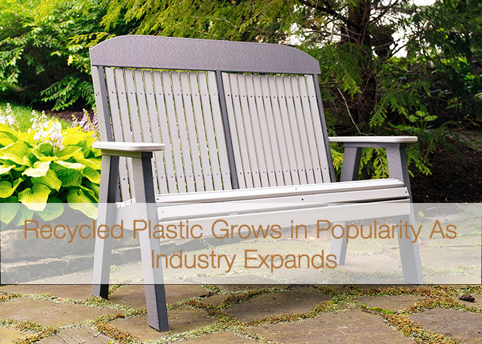 Super Recycled Plastic Benches And Picnic Tables Grow In Evergreenethics Interior Chair Design Evergreenethicsorg